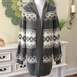 NWT Abercrombie & Fitch Long Duster Cardigan - B